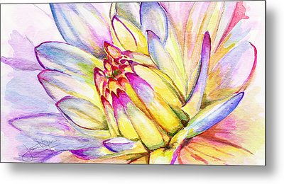 Morning Flower Metal Print