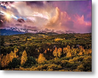 Metal Print featuring the photograph Morning Glory by Ken Smith
