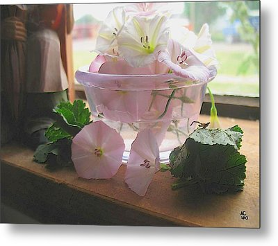 Metal Print featuring the digital art Morning Glory Light by Aliceann Carlton