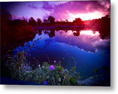 Metal Print featuring the photograph Morning Glory Sky by Susan D Moody