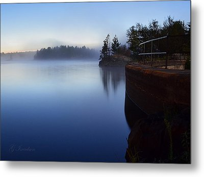 Morning Glow Metal Print by Gregory Israelson