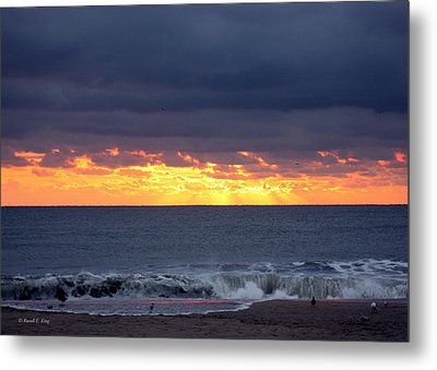 Morning Glow Metal Print by Russell  King