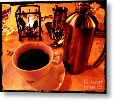 Metal Print featuring the photograph Morning Has Broken by Leslie Hunziker