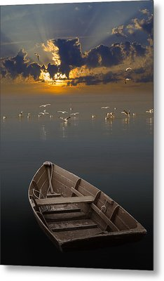 Morning Has Broken Like The First Morning Metal Print by Randall Nyhof