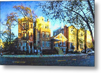 Morning In Bucktown Metal Print