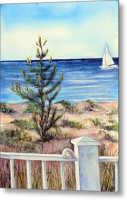 Morning In The Hamptons Metal Print