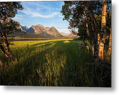 Metal Print featuring the photograph Morning In The Mountains by Jack Bell