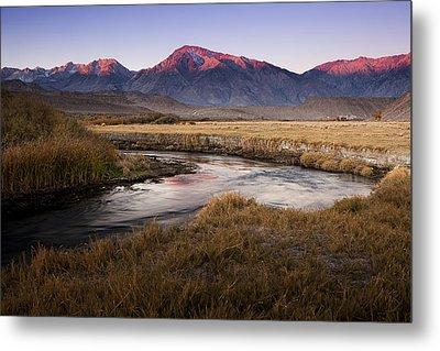 Morning In The Sierra Nevada Metal Print by Andrew Soundarajan