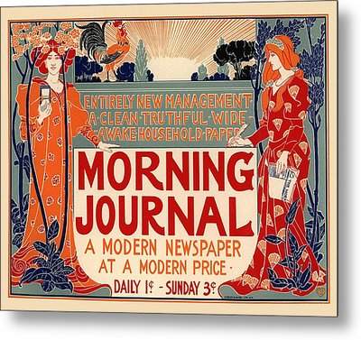 Morning Journal Metal Print by Gianfranco Weiss