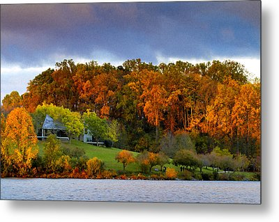 Morning Light Metal Print by Edward Kreis