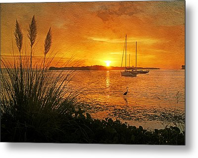Morning Light - Florida Sunrise Metal Print by HH Photography of Florida