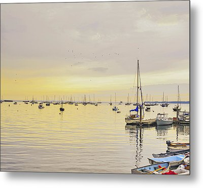 Morning Light Rockland Maine Metal Print by Marianne Campolongo