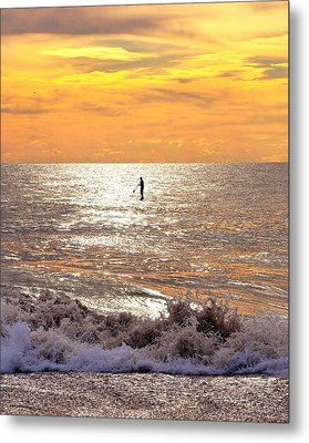 Sunrise Solitude Metal Print