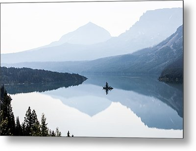 Metal Print featuring the photograph Morning Mist by Aaron Aldrich