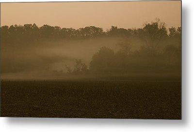 Morning Mist Metal Print by Erica Keener