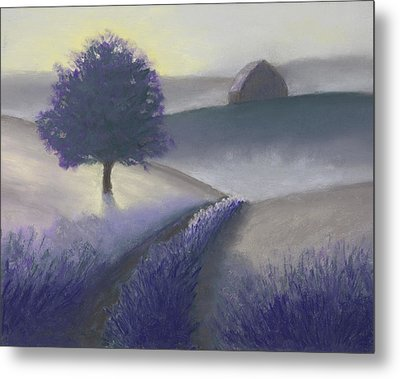 Morning Mist Metal Print by Garry McMichael