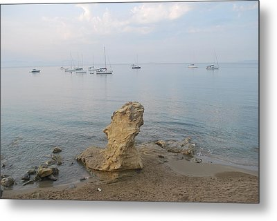 Metal Print featuring the photograph Morning Mist 2 by George Katechis