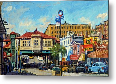 Morning On 231st Street The Bronx Metal Print