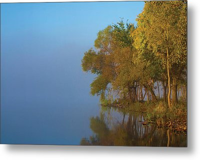 Morning On The Saganashkee Metal Print