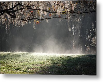 Morning Power Metal Print