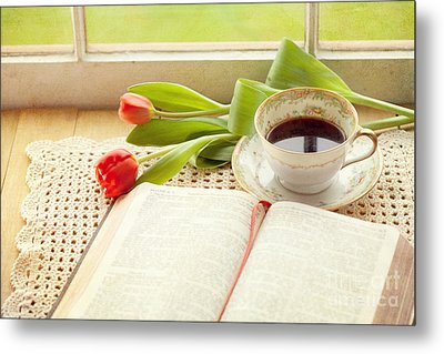 Morning Psalms Metal Print by Kay Pickens