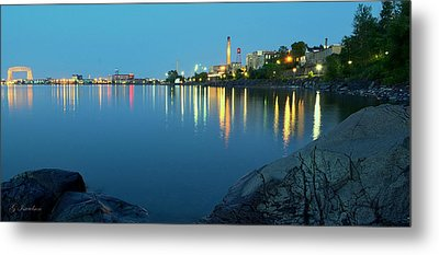 Metal Print featuring the photograph Morning Reflection by Gregory Israelson