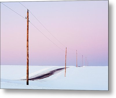 Morning Road Metal Print