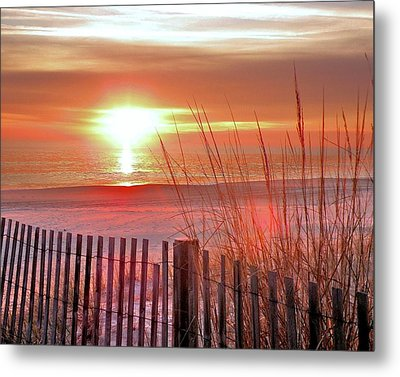 Morning Sandfire Metal Print