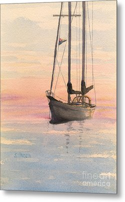 Morning Metal Print by Sandy Linden