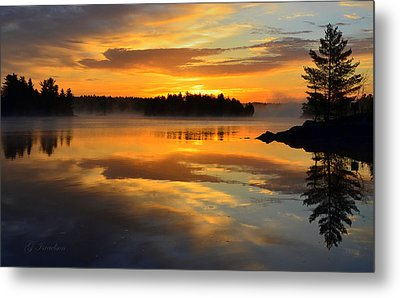 Morning Serenity Metal Print by Gregory Israelson