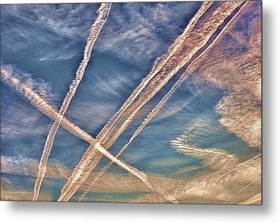 Morning Sky Metal Print by J Riley Johnson