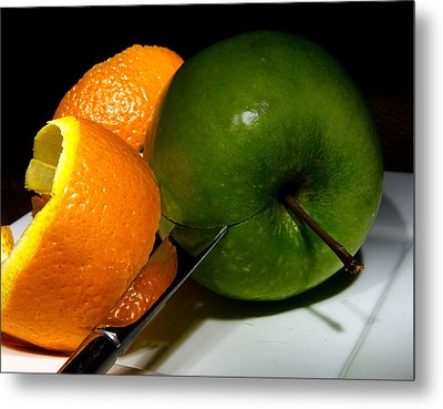 Morning Snack 2 Metal Print by Cecil Fuselier