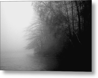 Morning Stillness Metal Print