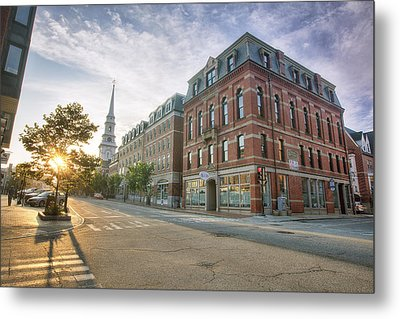 Morning Stroll Metal Print by Eric Gendron