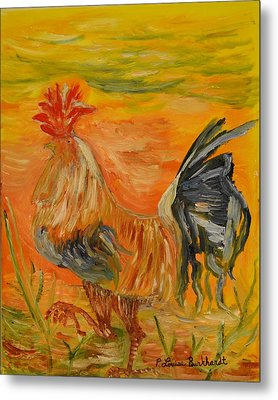 Morning Stroll Metal Print by Louise Burkhardt