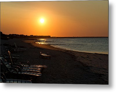 Metal Print featuring the photograph Morning Sunrise Over The Cape by John Hoey