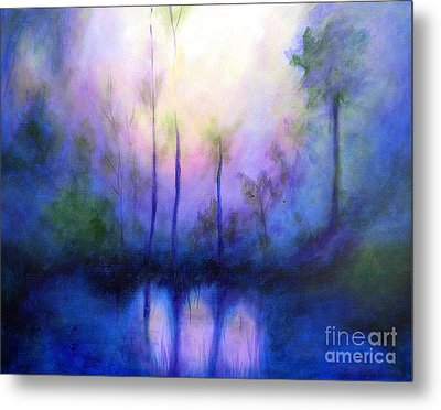 Morning Symphony Metal Print by Alison Caltrider