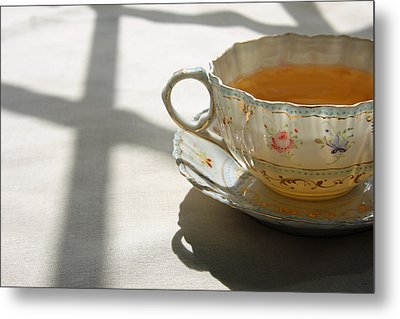 Metal Print featuring the photograph Morning Tea by Brooke T Ryan