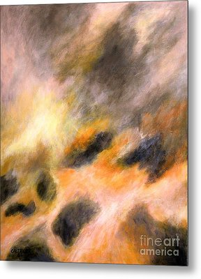 Metal Print featuring the painting Morning Tide by Alison Caltrider