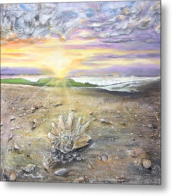 Morning Treasure Metal Print by Dawn Harrell
