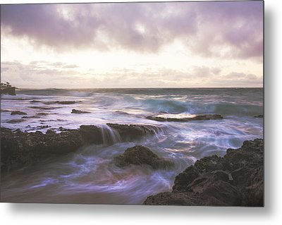 Morning Waves Metal Print