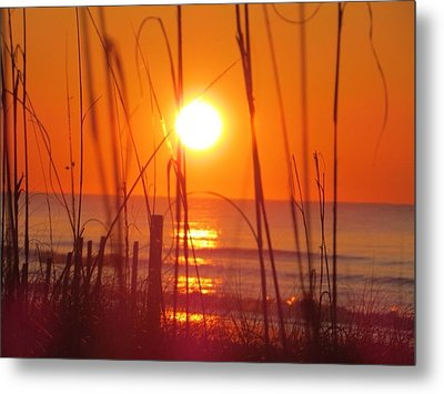 Morning's Beach Metal Print