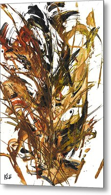 Mornings's Liquid Sunshine 11.030411 Metal Print by Kris Haas
