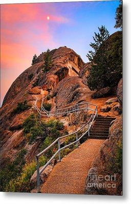 Moro Rock Path Metal Print by Inge Johnsson