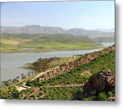 Moroccan Countryside 1 Metal Print