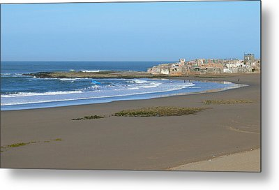 Moroccan Fishing Village Metal Print