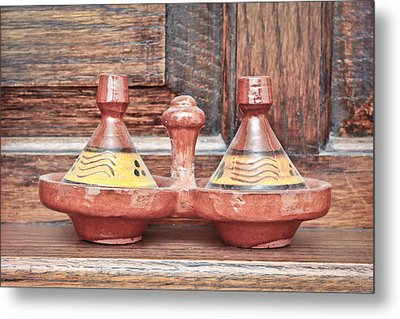 Moroccan Tagine Metal Print by Tom Gowanlock