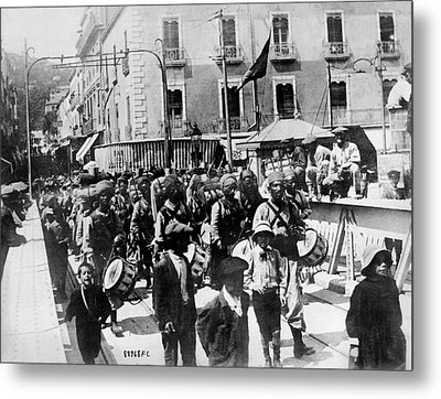 Moroccan Troops To The Front Metal Print