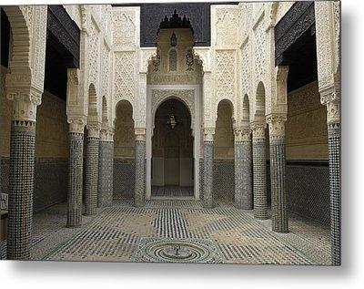 Morocco. Sal�. Madrasah C. 1341 Metal Print