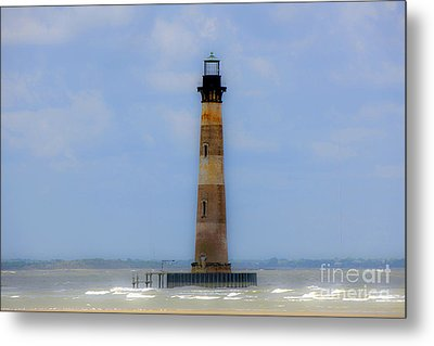 Metal Print featuring the photograph Sand Sea And Whimsey by Dale Powell
